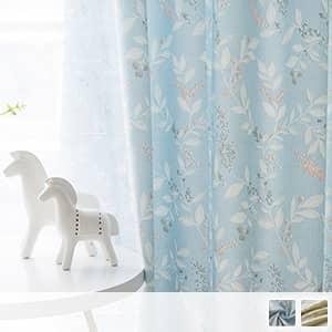 美しい花水木のドレープカーテン