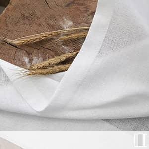 シンプルなミラーレースカーテン