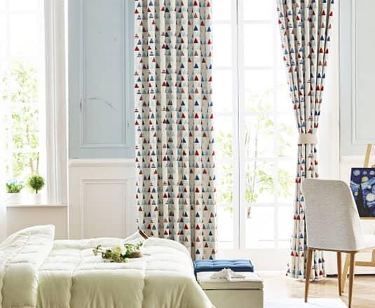 2級遮光の北欧風カーテン
