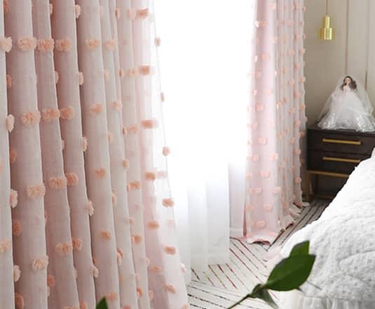 3級遮光の姫系カーテン