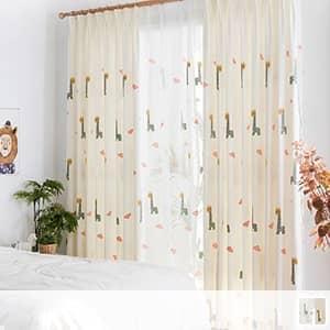 子供部屋にぴったりなアニマル刺繍